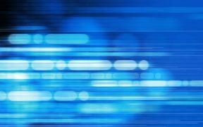 En-tête de technologie de communication numérique
