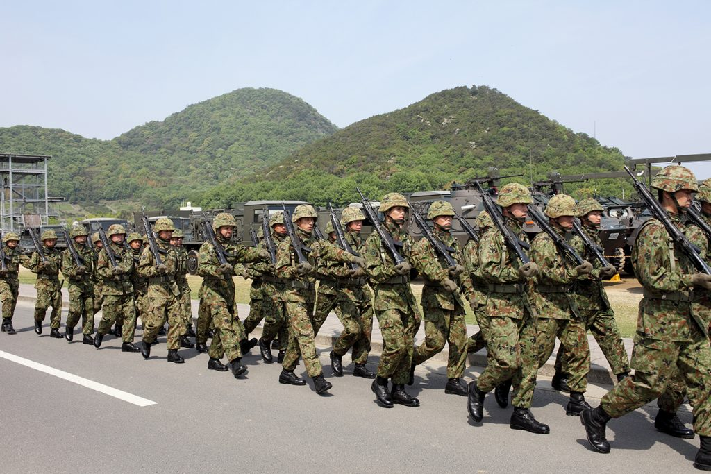 Image of Asian Military marching for Shifting Composition of the Asia Pacific Security Architecture blog post
