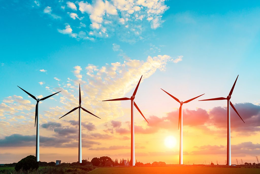 Image of wind turbines for Canada in a Changing Global Energy Landscape blog post