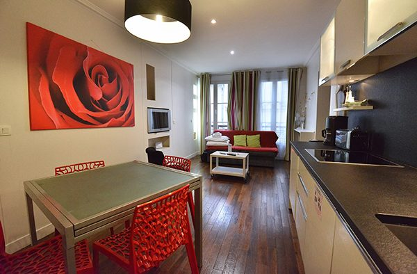 Image of an apartment staged and ready to be rented for FairBnB blog post