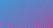Image of abstract light blue lines over a magenta background used as header for Behavioural Insight Brief The Role of Narrative in Public Policy blog post